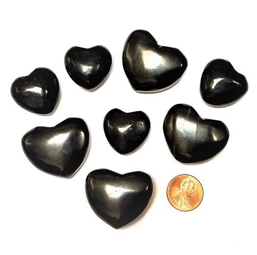 Shungite Hearts