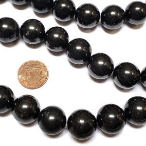 Shungite Beads Round