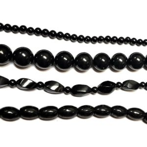 Shungite Beads from Russia