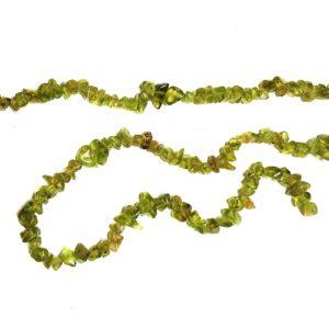 peridot beads tumbled