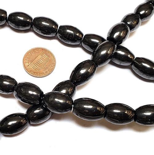Shungite Beads Barrels
