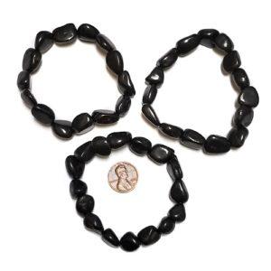 Shungite Small Tumbled Bracelet