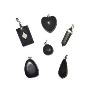 Shungite Pendants with Bail