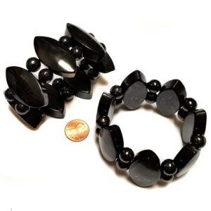 Shungite Bracelet Marquise & Round