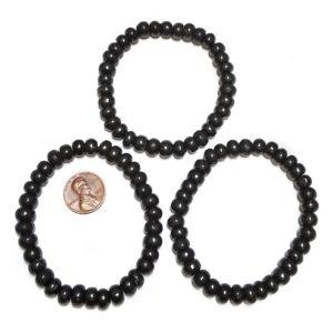 Shungite Bracelet Rondelle