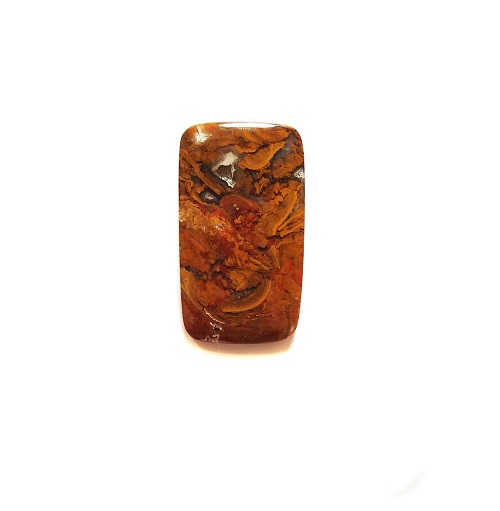 Cab1149 - Rooster Tail Agate Cabochon