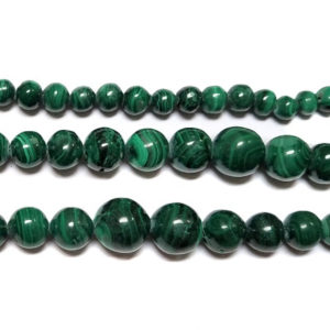 Malachite Beads Graduated