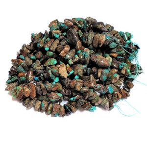 Turquoise Chip Beads Grade C