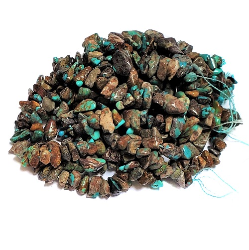 Turquoise Chip Beads Grade C