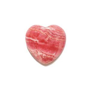 cab1087 rhodochrosite heart