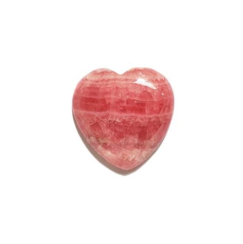 cab1093 rhodochrosite heart