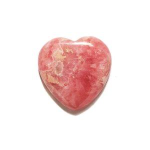 cab1240 rhodochrosite heart