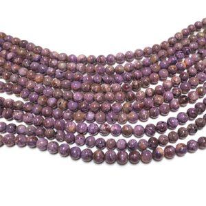 charoite beads grade AB