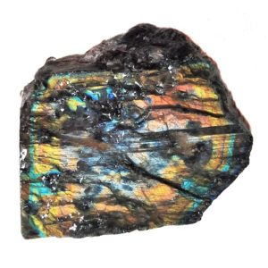 Spectrolite (Labradorite) Feldspar Rough from Finland