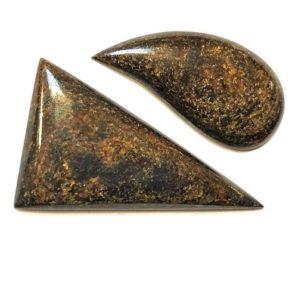 bronzite cabochons