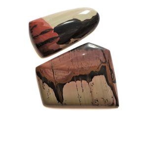 Indian Paint Rock Cabochons from Nevada