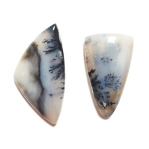 Parral Dendritic Agate Cabochons from Chihuahua, Mexico