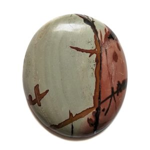 cab2053 - Indian Paint Rock Cabochon