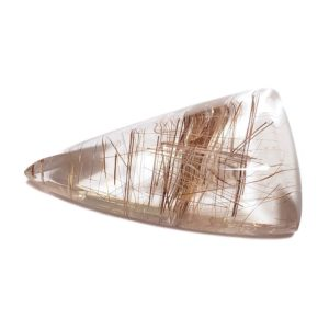 Cab2517 - Rutilated Quartz Cabochon