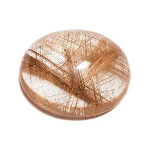 Cab2596 - Rutilated Quartz Cabochon
