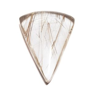 Cab2661 - Rutilated Quartz Cabochon