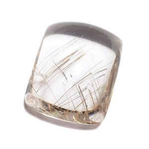 Cab2691 - Rutilated Quartz Cabochon