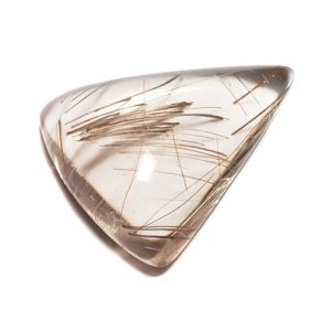cab2722 - Rutilated Quartz Cabochon