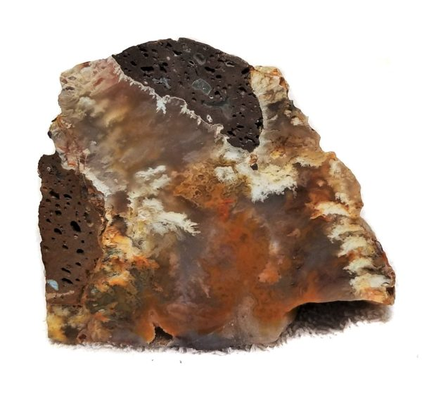 Graveyard Point Plume Agate Rough #6