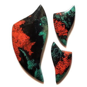 Sonoran Sunrise Chrysocolla Cabochons from Sonora, Mexico