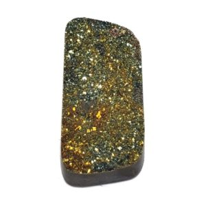 Cab1533 - Rainbow Pyrite Cabochon Pair
