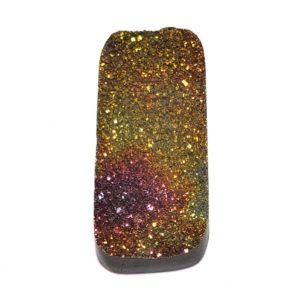 Cab2317 - Rainbow Pyrite Cabochon Pair