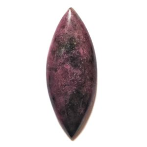 Cab2816 - Ruby With Hornblende Cabochon