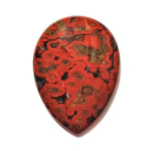 Cab2893 - Morgan Hill Poppy Jasper Cabochon