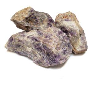 Chevron Amethyst Rough from Brazil - $12.00/lb