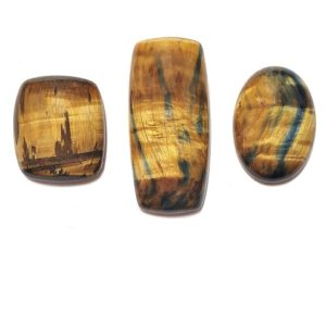 Hawkeye - Tiger Eye Cabochons from Australia