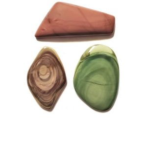 Imperial Jasper Cabochons from Mexico
