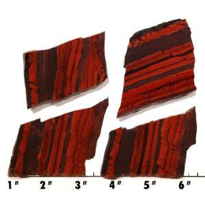 Slab2040 - Red Jasper Hematite slab