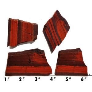 Slab2055 - Red Jasper Hematite slab