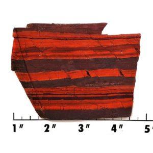 Slab1668 - Red Jasper Hematite slab