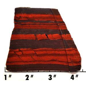 Slab1958 - Red Jasper Hematite slab