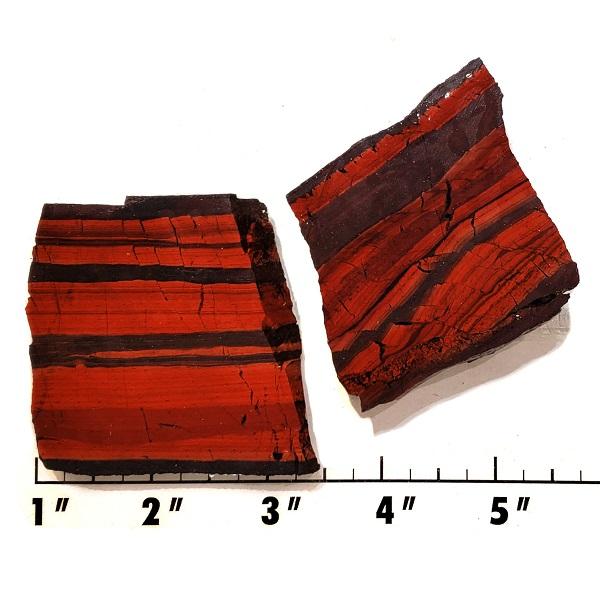 Slab2036 - Red Jasper Hematite slab