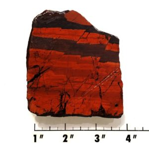 Slab2039 - Red Jasper Hematite slab