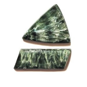 Seraphinite Cabochons from Russia