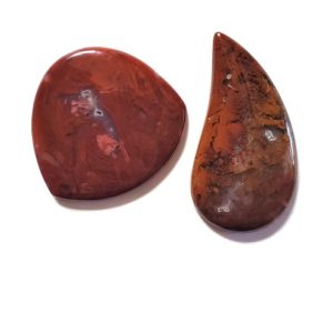 Flame Agate Cabochons from Sonora, Mexico