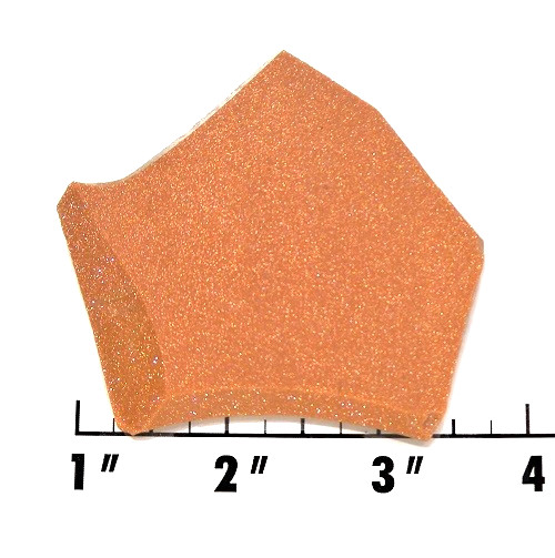 Slab1831 - Red Goldstone Slab