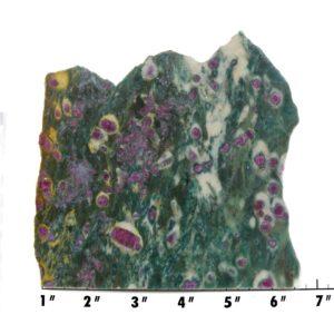 Slab1827 - Ruby in Fuchsite Slab