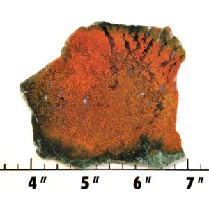 Slab1673 - Red Flame Agate Slab