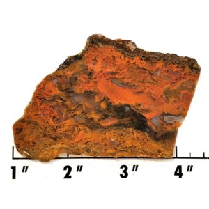 Slab1739 - Red Flame Agate Slab