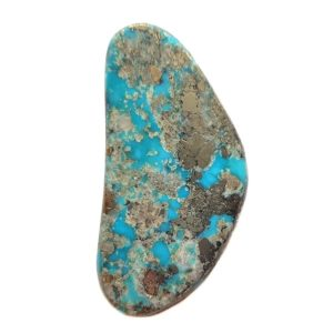 Cab1030 - Natural Morenci Turquoise Cabochon