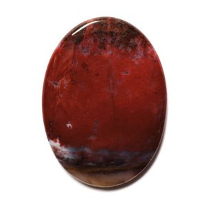Cab1110 - Red Moss Agate Cabochon